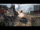 T 55A, Промзона, Стандартный бой