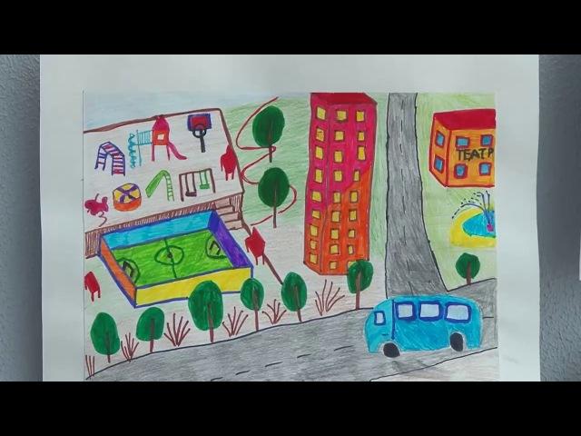 Ирина Сахарова о финале конкурса Дети рисуют город