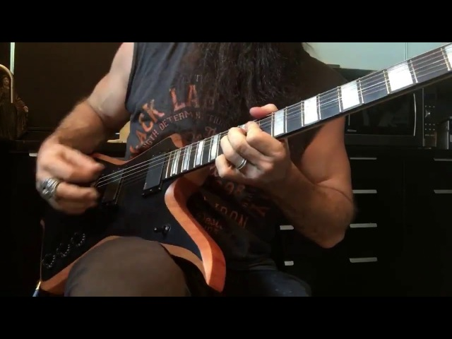 Zakk Wylde solo for Perry Mason w/The BLOOD EAGLE in MAHOGANY BLACKOUT