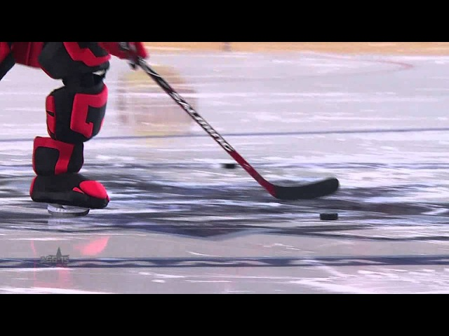 Матч Звезд 2015 Маскоты бьют буллиты KHL All Star Game 2015 Mascot Shootout Contest