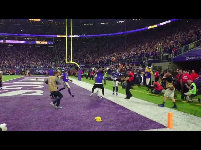 Minneapolis Miracle. Watch the sideline view Vikings walk off TD against Saints