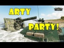 World of Tanks Funny Moments ARTY PARTY 55
