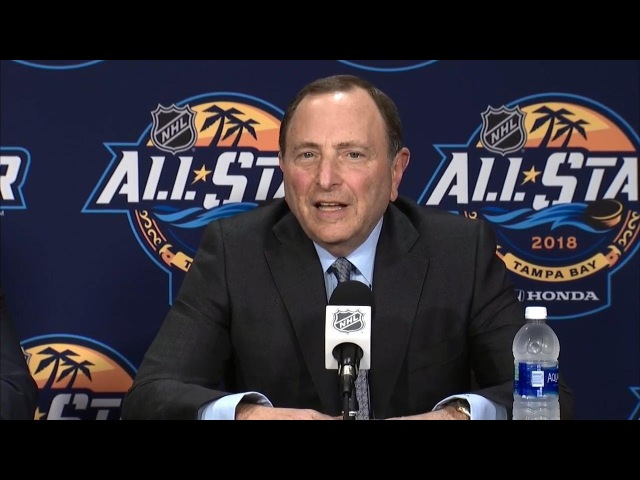 Gary Bettman talks Seattle expansion, goaltender interference overseas growth