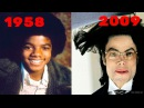 Michael Jackson From 1 To 50 Years Old 1958-2009 / Майкл Джексон как менялся от 1 до 50 лет