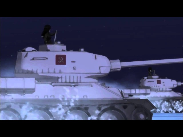 Katyusha full version) AMV Girls und Panzer OST (HD)
