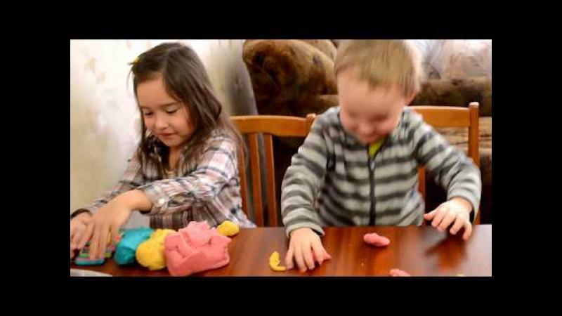 Скажите пластилину НЕТ! СУПЕР рецепт соленого теста для лепки / Поделки с малыша ...