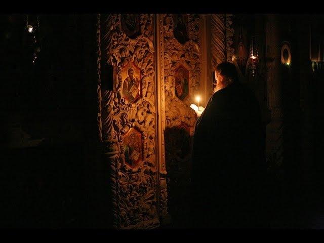 Слезное моление в воскресенье вечером Преподобного Ефрема Сирина