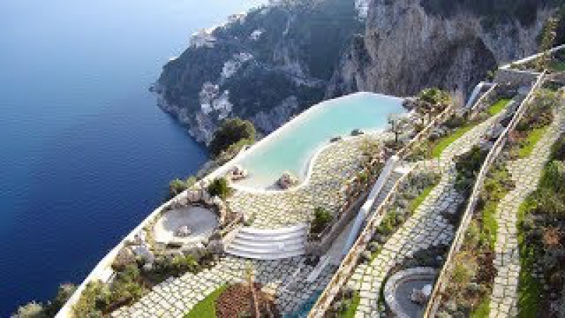 Monastero Santa Rosa (Amalfi Coast, Italy): SPECTACULAR HOTEL INFINITY POOL