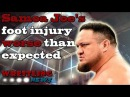 Samoa Joe's foot injury worse than expected | Wrestling News