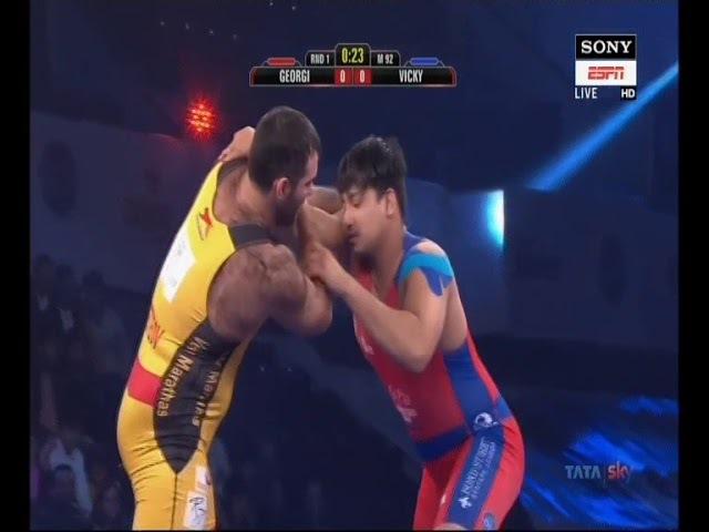 PWL 3 Day 11:Georgi Ketoev VS Vicky Chahar at Pro Wrestling League 2018 | Full Match