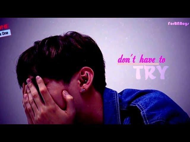[ 윤지성 ] ❝ you don't have to try so hard...❝ FMV YOON JISUNG