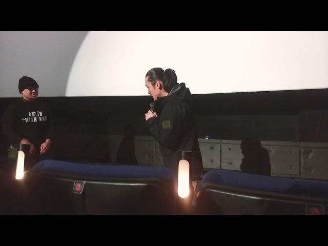 12/3『RE:BORN』タクティカルナイト@立川シネマシティ③可変ウェイブ編