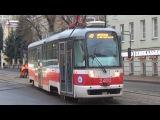 Трамвай Vario-LF №2400 единственный действующий в Москве!