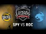 SPY vs. ROC - Week 2 Day 1 EU LCS Spring Split Splyce vs. Team Roccat (2018)