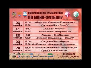 22.10.2017 Снежана-Котельники - ОрелГУ