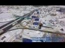 Строительство многоуровневой развязки на трассе М-5 Тольятти Togliatti Russia