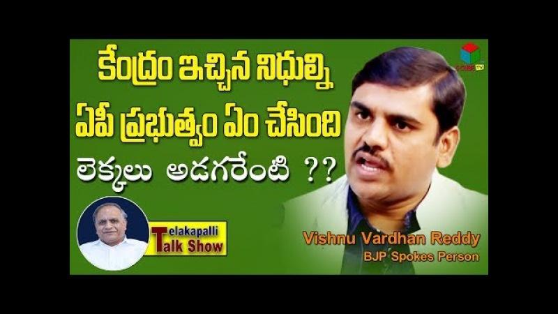 Vishnu Vardhan Reddy Straight Question To All Political Parties || Telakapalli Talkshow || S CUBE TV
