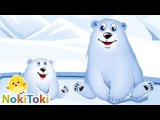 Cartoon baby. Learning Animals for Toddlers. Educational Game. NokiToki