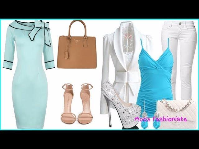Combinaciones de ropa con azul I Outfits con azul