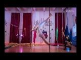 Любовь _SoVa_ Кадочкина  и Тихомирова Мария (Тренера Отчётник 10.12.17. Studio _SoVa_ Pole Dance )