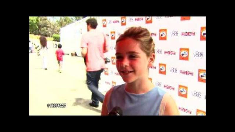 Kiernan Shipka INTERVIEW at the Kidstock Music And Arts Festival - 'Rocks On' 2011