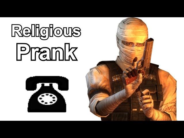 Joshua Graham Calls Religious Hotlines - Fallout New Vegas Prank Call