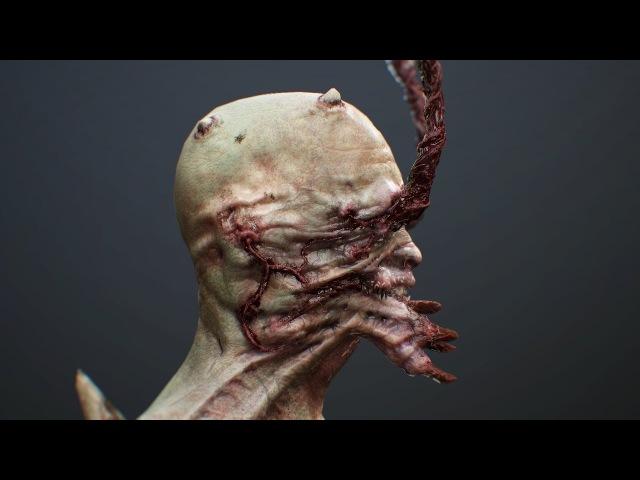 Crawler game-ready monster - Pavor - Helios Games