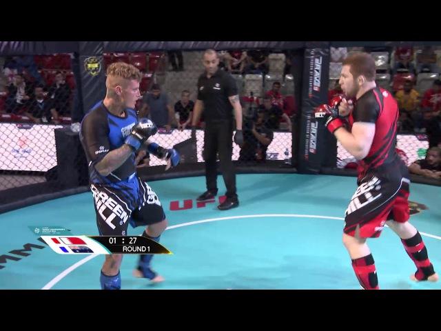 Murtaza Talha Ali (BAH) X Sam Lawson (AUS) - World championship Amature MMA 15/11/2017