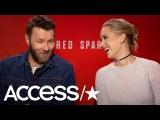 2018   Интервью Джоэла Эдгертона и Дженнифер Лоуренс для промо-тура фильма «Красный воробей» в Нью-Йорке   Access