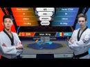 M-80kg Aaron COOK(MDA )VSZhen WANG(CHN) 2017-2018 Season WT Grand Slam Finals