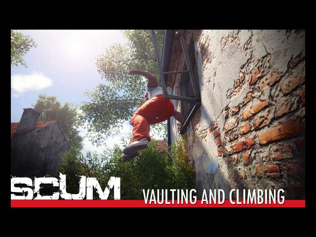 SCUM - Vaulting Climbing [Pre-Alpha]