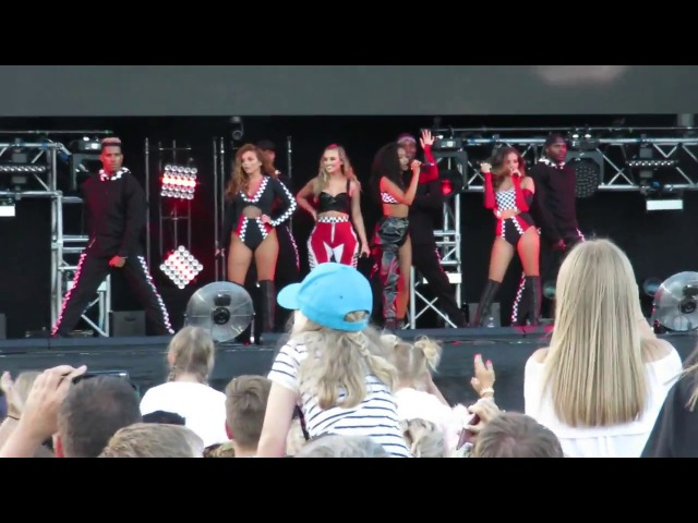 Little Mix - Black Magic - Summer Shout Out Tour - at the Aegas Bowl, Southampton on 09/07/2017_
