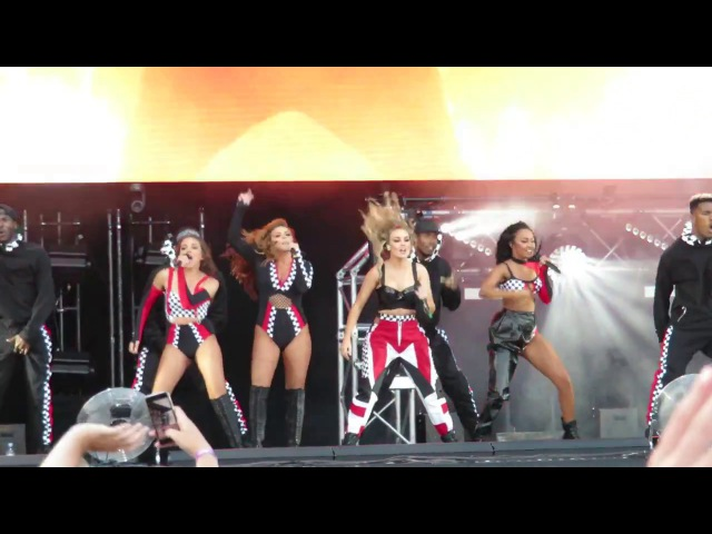 Little Mix - Power - Summer Shout Out Tour - at the Aegas Bowl, Southampton on 09/07/2017_