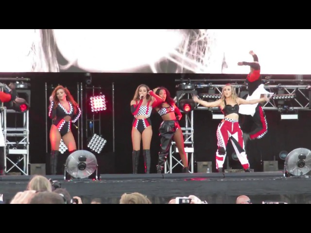 Little Mix - Hair - Summer Shout Out Tour - at the Aegas Bowl, Southampton on 09/07/2017_