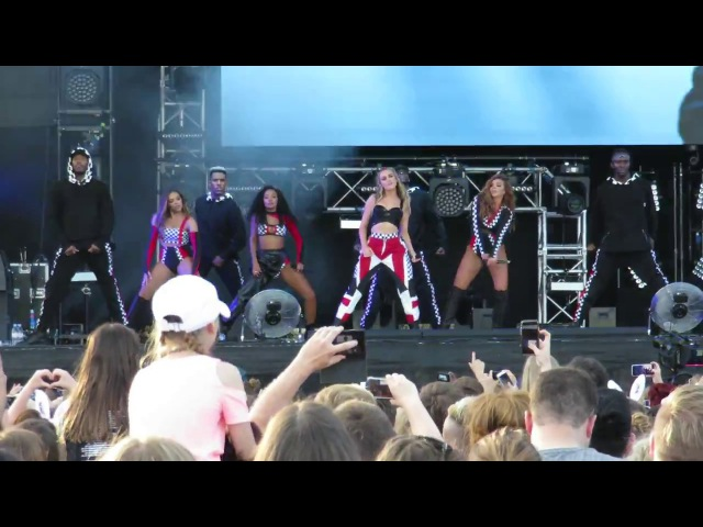 Little Mix - Down Dirty - Summer Shout Out Tour - at the Aegas Bowl, Southampton on 09/07/2017
