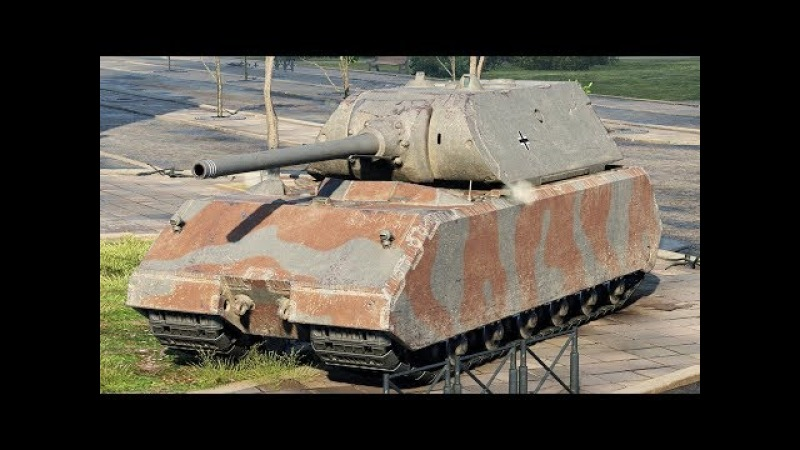 World of Tanks Maus - 10 Kills 10,7K Damage (1 VS 6)