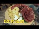 FLOR DE SALAMI Y TABLA DE QUESOS