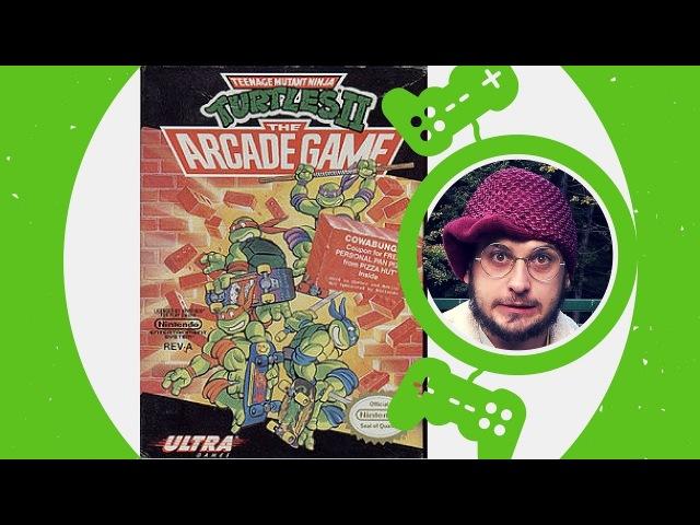 Teenage Mutant Ninja Turtles II: The Arcade Game / NES / 1