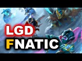 FNATIC vs LGD - SUMMIT 8 MINOR DOTA 2 - Commentary by EG