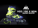 K2 VO2 100 X BOA Men's 2014 Inline Skates Review