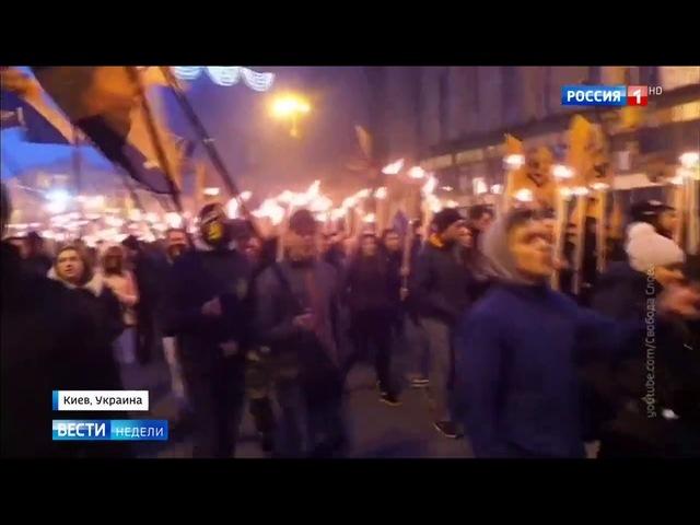 Вести недели Эфир от 15 10 2017 Украинский радикал Билецкий пригрозил российским компаниям войной