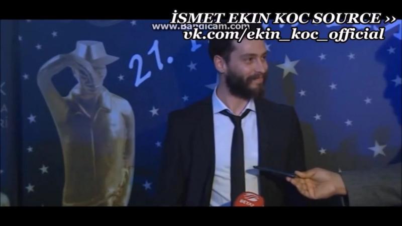 Ekin Koç - 21. Sadri Alışık Ödül Töreni 02.05.2016