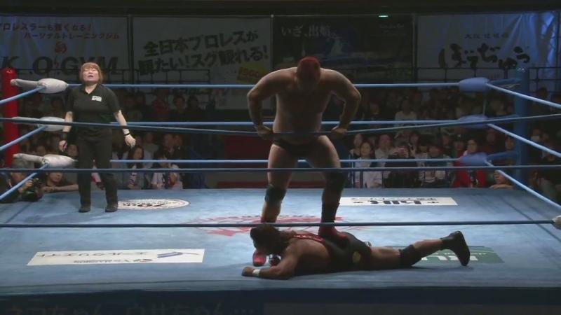 Shingo Takagi vs. Yuji Hino (AJPW - Champion Carnival 2018 - Day 7)