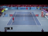 Rublev Finishes Off Exciting Rally At Net Hot Shot