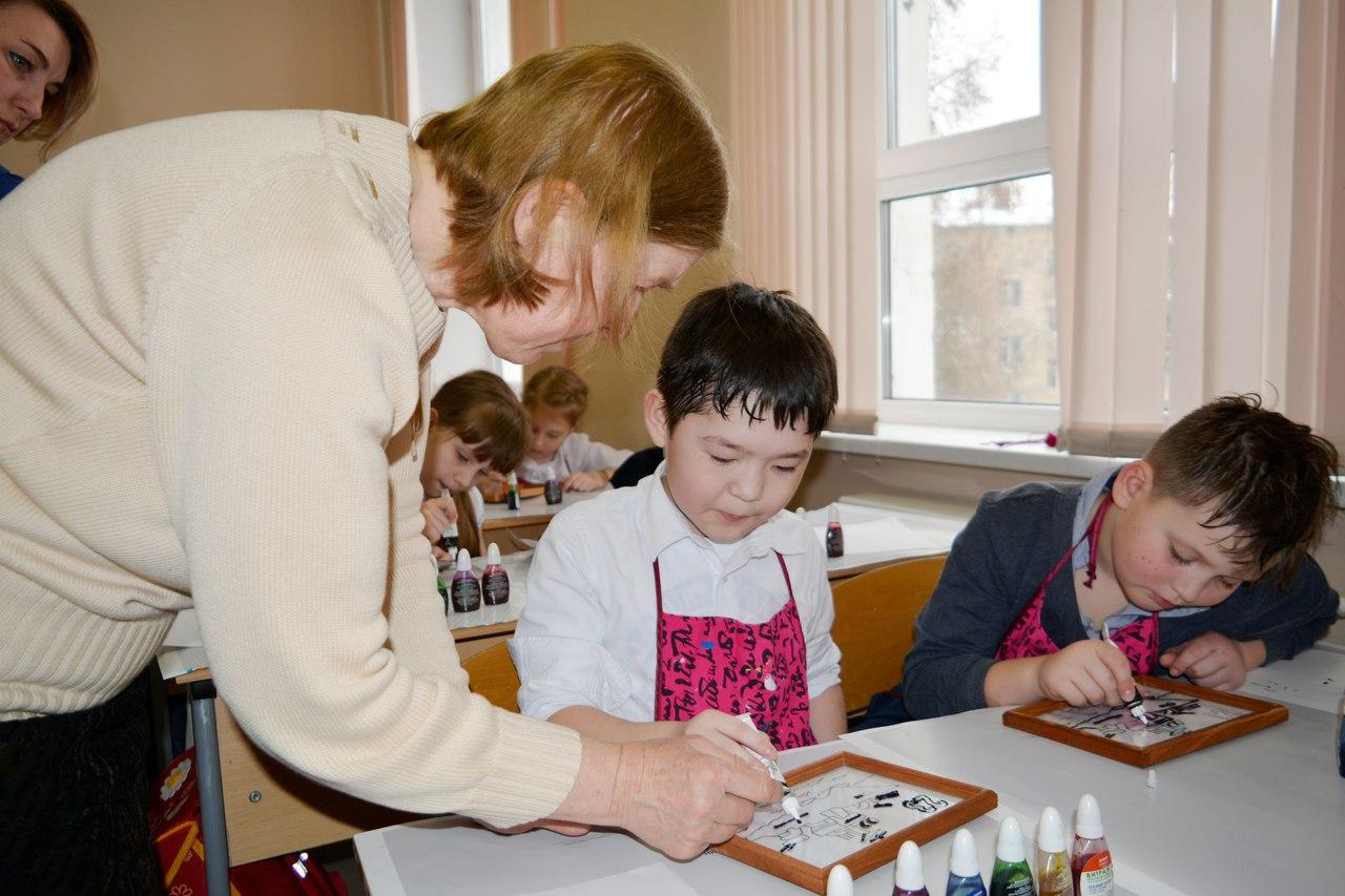 "15.03.2018 мастер-класс по заливному витражу ""Крейсер"""