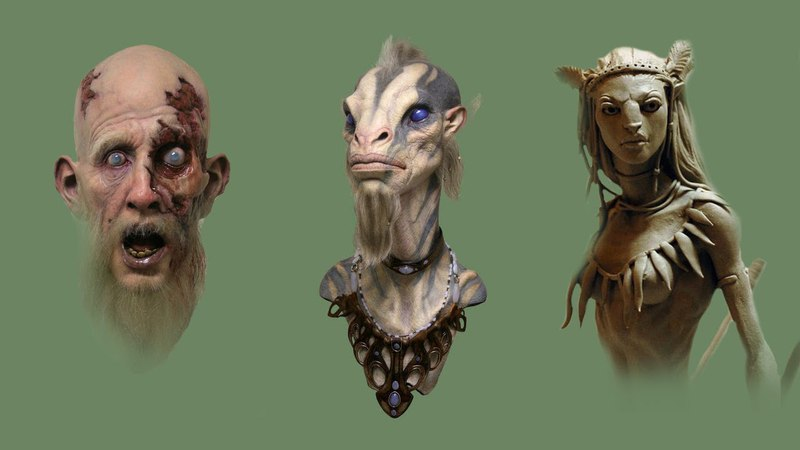 2 Day LIVE Online Creature Maquette Sculpting Painting Course with Jordu Schell