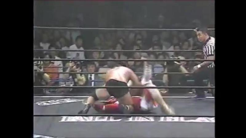 Wild Pegasus (Chris Benoit), Jushin Liger vs. Tatsuhito Takaiwa, Shinjiro Otani