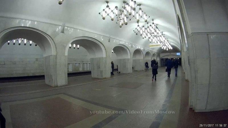 Метро. Серпуховско-Тимирязевская линия. Все станции. (сокращённая версия без перегонов)