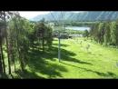 Канатно-кресельный подъемник. Подъем на гору Малая Синюха 1012 метров над уровнем моря. Часть 4