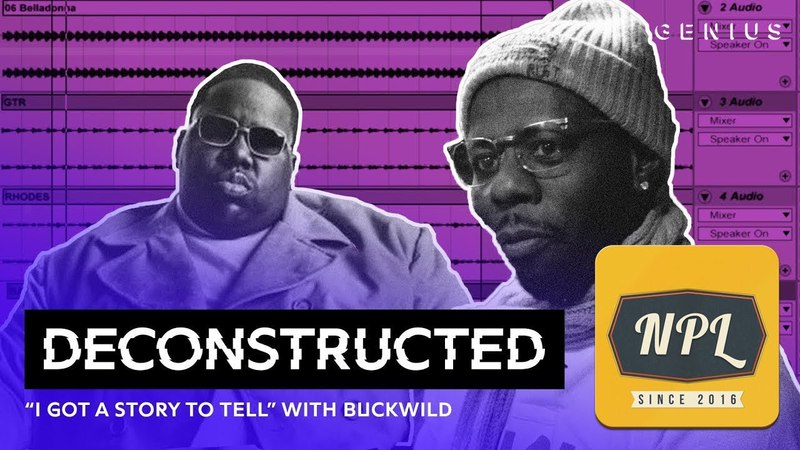 Разбор трека Notorious B.I.G. I Got A Story To Tell c Buckwild | Озвучка NPL |